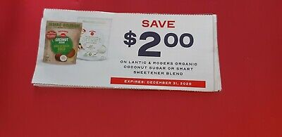 10x$2.00 off lantic and rogers organic coconut sugar or smart sweetener Coupons