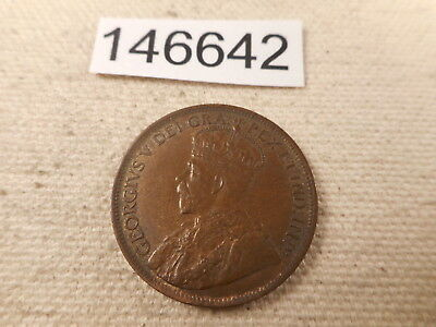 1917 Canada Large Cent Nice Higher Grade Unslabbed Nice Album Coin - # 146642