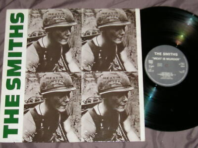 THE SMITHS : Meat is Murder - Rare LP VINYL 33T - FRANCE 1985