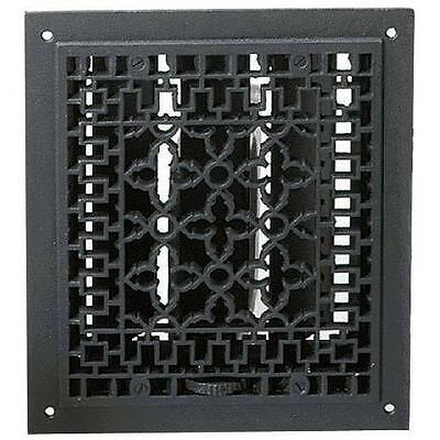 """12""""x14"""" Cast Iron Floor, Wall Louvered Register - Requires 10""""x12"""" Opening"""