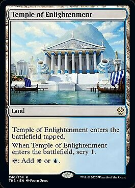 MtG Theros Beyond Death Rare Foil Temple of Enlightenment #246