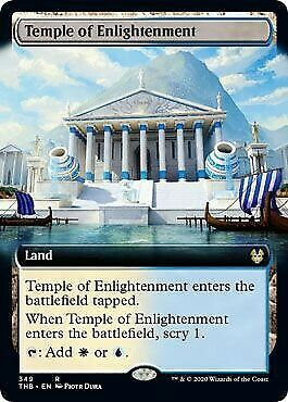 MtG Theros Beyond Death Rare Temple of Enlightenment #349 [Extended Art]