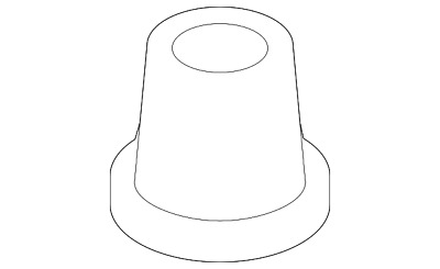 Genuine Nissan Air Cleaner Assembly Retainer 16566-5X20A