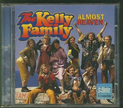 THE KELLY FAMILY Almost Heaven 1996 CD HOLLAND EMI K-LIFE PICTURE DISC freepost