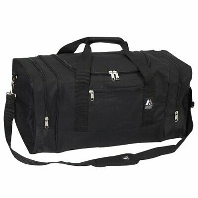 Everest Luggage Sporty Gear Bag - Large, Black, Black, One Size (Black)