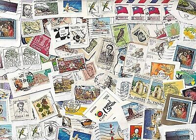 World wide collection....25 grams used stamps on paper