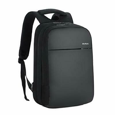 Business Laptop Backpack Fits Computer up to 15.6-inch, Nylon Cloth, (Black)