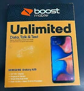 Samsung Galaxy A20 (Boost Mobile) Brand New