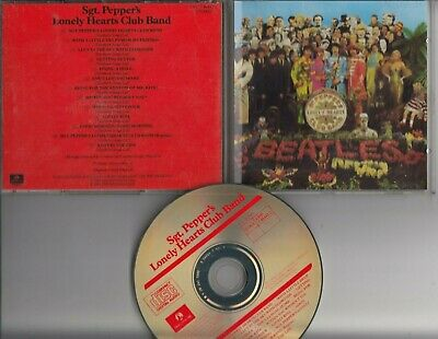 THE BEATLES Sgt. Peppers Lonely Hearts Club Band 1987 CD UK CDP7 46442 2