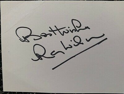 Signed Ray Wilson England World Cup 1966 Everton FC Huddersfield Town FC Card