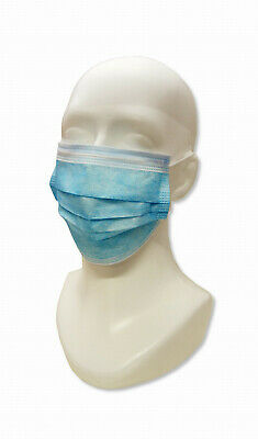 10 X Disposable Surgical Face Masks 3 Ply Anti VIRAL Flu Mask Ear loop Green
