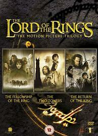The Lord Of The Rings Trilogy (DVD, 2005, 3-Disc Set)