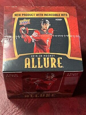 2019-20 Upper Deck Allure Hockey Hobby Box New/Sealed