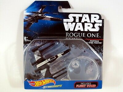 Hot Wheels Star Wars PARTISAN X-WING FIGHTER Rogue One Die-Cast vehicle