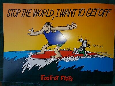 10 Assorted FOOTROT FLATS POSTERS 48cm X 35cm