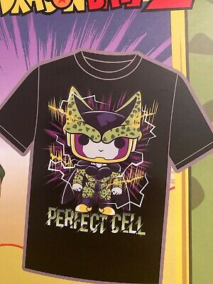 FUNKO POP DRAGON BALL Z PERFECT CELL 13 GAMESTOP EXCLUSIVE TEE shirt 2XL