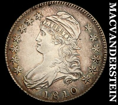 1810 Capped Bust Half Dollar - Almost Uncirculated+!!  Semi-Key!!  #H5879