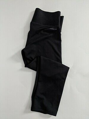 Women's Champion Performance Cropped Leggings Black Size Small Yoga Workout