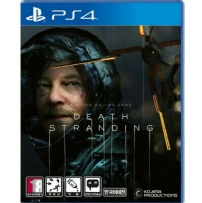 Sale Death Stranding Sony Action PlayStation 4 Standard Edition Korean Game_ngeo