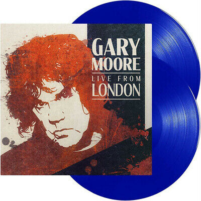 Gary Moore Live From London Double Blue Vinyl LP New Out 14/02/20