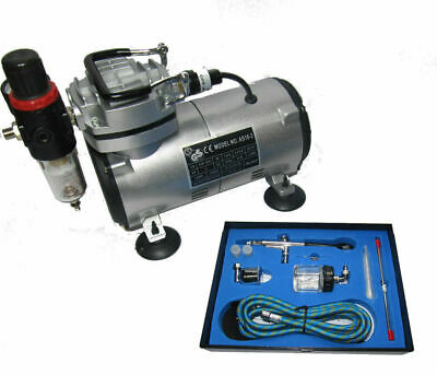 Airbrush Compressor Kit Airbrush Kit Double Action Airbrush Kt 186K