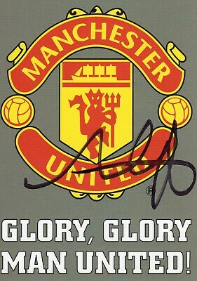 Alan Smith Autograph,  Manchester United, Football,Soccer