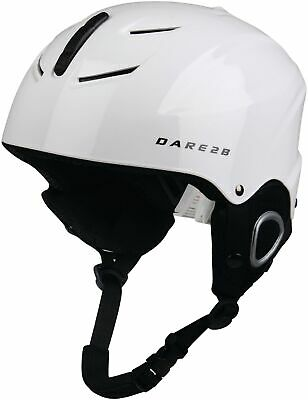 Dare2B Scudo Junior Ski Helmet White Size 48-53cm Kids Boys Girls Skiing Cycling