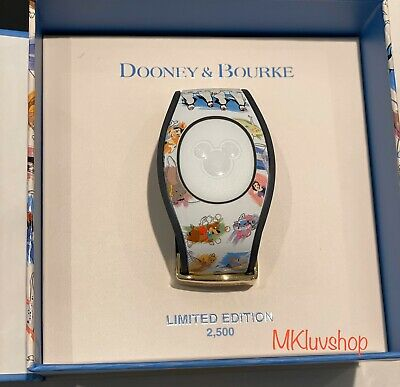 New Disney Parks Ink & Paint Collection MagicBand Dooney And Bourke Unlinked
