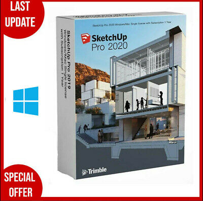 SketchUp Pro 2020 for Windows✔️Full Version✔️Life Time✔️multilingual✔️