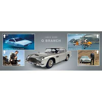 2020. James Bond mini-sheet with 4 values! PRE-ORDER YOUR SHEET NOW!