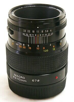 Zenza Bronica 110mm f/4 Zenzanon PS lens for SQ A Ai AM B EXC+ #36574