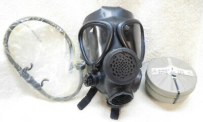 ISRAELI Military M15 GAS MASK w/ Filter & Drinking Straw-(NEW)-FREE Shipping