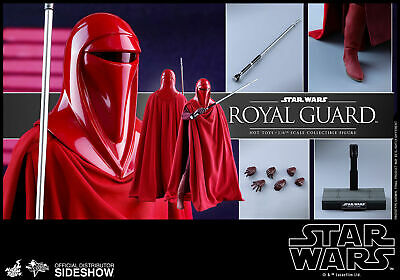 Hot Toys Star Wars Royal Guard Return Of The Jedi 1/6 Scale Figure Sealed New