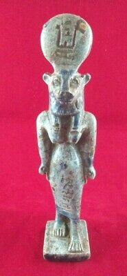 Ancient Egyptian Antiquities Statues of God Skhmet  (1390 – 1352 BC)