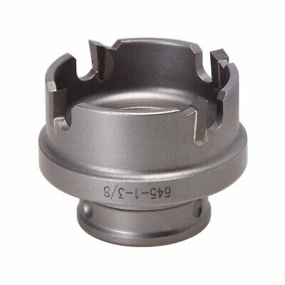 """Greenlee 645-1-3/8 1-3/8"""" Quick Change Stainless Steel Carbide-Tip Hole Cutter"""