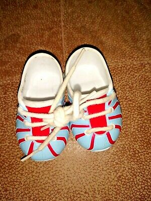 Great for Boy Logan ! Red High Top Tennis Shoes Fits American Girl Dolls