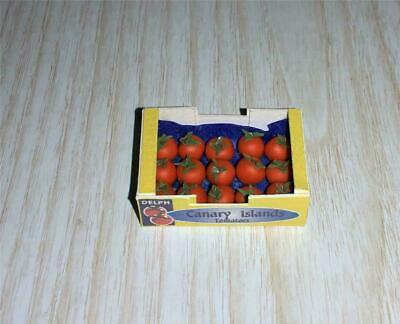 Fabulous Dollhouse Miniature 1:12 Scale Basket Full of Tomatoes #WCFD37