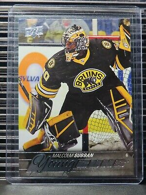 2015-16 Upper Deck Malcolm Subban Young Guns YG Rookie RC Bruins MCS