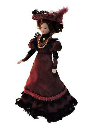 Dolls House Lady Dorothea Drummond Merry Meeting Victorian Miniature 1:12 People