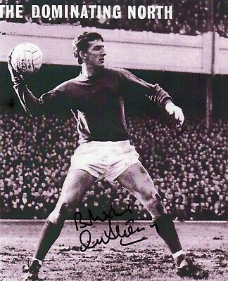 Alex Stepney Autograph,  Manchester United, Football,  Soccer