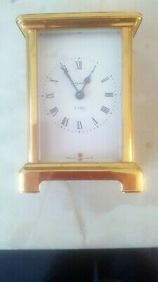 BAYARD FRENCH CARRIAGE CLOCK vintage 8 day DUVERDREY & BLOQUEL working order