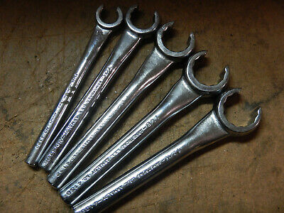 Armstrong Flare Nut Wrench Set Wrenches 1 3/16, 1 1/8, 1, 7/8,  And 5/8