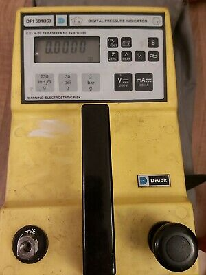 Druck Digital Pressure Indicator 0 To 2 bar