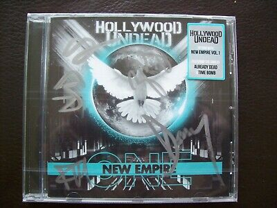 Hollywood Undead - New Empire Vol 1 - CD Signed Edition.....NEW & SEALED