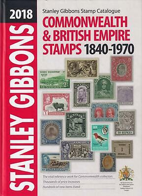 Stanley Gibbons 2018 Commonwealth & British Empire Stamps Catalogue (very fine)