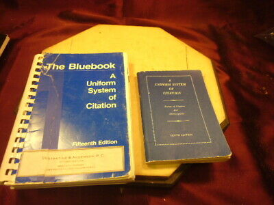 (2)The Bluebook:A Uniform System of Citation~10th(1958)/17th(1991) Edition-F/Shi
