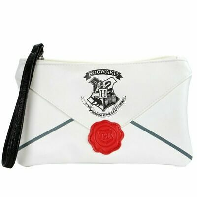 OFFICIAL Harry Potter Hogwarts Letter Envelope Girls Clutch Handbag Purse