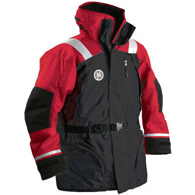 First Watch AC-1100 Flotation Coat - Red/Black - Large