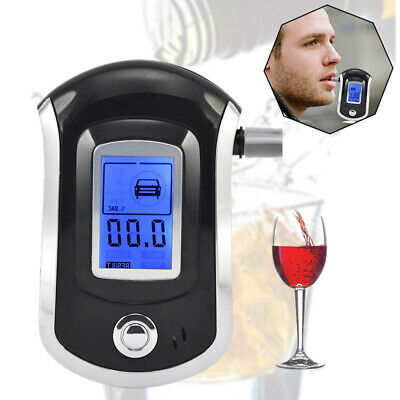 Accurate Breath Alcohol Tester Testing Device Home Breathalyzer Test Portable