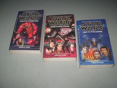 3 Star Wars Thrawn Trilogy Cycle Paperback 1-3 by Timothy Zahn